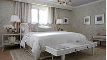 Sarah Richardson - master bedroom design. (Stacey Brandford Photography)