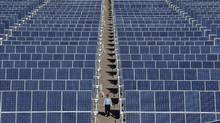 5N Plus is a major supplier of cadmium telluride, a key ingredient in the production of solar panels. (SHENG LI/SHENG LI/REUTERS)