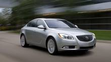 The 2011 Buick Regal (HO)