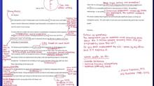 "Democratic Congressman Mark Takano brought back bad memories when he went to town on a letter circulated by U.S. Republican House members – grading it an F. A former high-school English teacher, Takano took issue with the GOP's memo and decided to pick up his red pen again, delivering the words every student dreads: ""Exaggeration – avoid hyperbole;"" ""evidence?!"" and ""weak draft, re-do."""