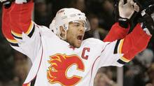 Calgary Flames right wing Jarome Iginla. (Marcio Jose Sanchez)