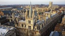 Cambridge is pictured in this undated file photo. (PHOTODISC/PHOTODISC)