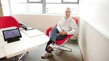 Google CFO Patrick Pichette: 'The world is not made of documents, the world is made of entities.' (Moe Doiron/The Globe and Mail)