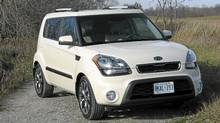 2012 Kia Soul. (Bob English for The Globe and Mail)