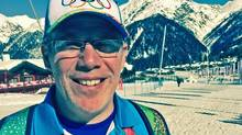 Glen Gardner of Columbus, Ohio is one of about 25,000 volunteers at the Sochi Games (Eric Reguly/The Globe and Mail)
