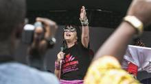 Eve Ensler is a feminist activist responsible for V-Day, the worldwide movement to stop the violence against girls and woman. (Jana Asenbrennerova/Reuters)