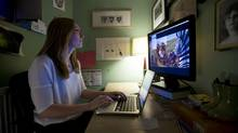 Jordan Canning is one of a select few who help determine what Canadian viewers will watch on Netflix. (Kevin Van Paassen/The Globe and Mail)