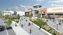 The expansion of Square One shopping mall in Mississauga will add two acres of green space to the 89-acre site, including two parks and a landscaped plaza.