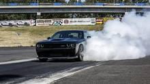 2015 Dodge Challenger SRT Hellcat. (Fiat Chrysler)