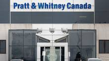 The Pratt and Whitney Canada plant is shown Wednesday, Feb. 11, 2009 in Longueuil, Que. (THE CANADIAN PRESS)