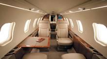 Inside a Flexjet cabin. (Handout)