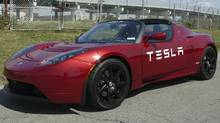 Tesla Roadster. (Petrina Gentile for The Globe and Mail)