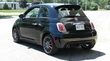 2012 Fiat 500 Abarth (Bob English for The Globe and Mail)