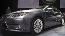 The Lexus ES350. (Andrew Burton/Reuters)