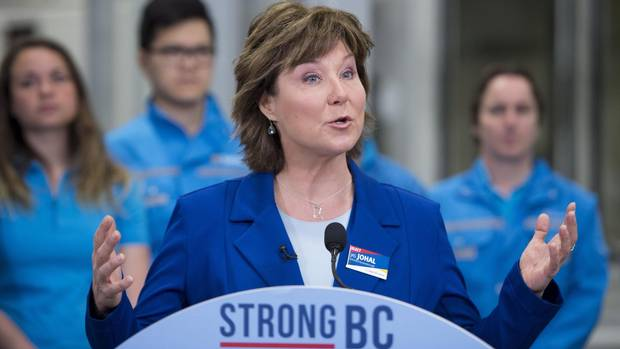 Christy Clark's Misplaced Priorities - Magazine cover