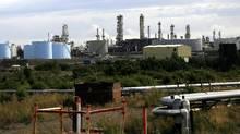 The Tesoro Corp. oil refinery in Nikiski, Alaska (AL GRILLO/AP)