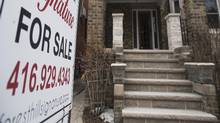 Competition for detached homes in hot markets has driven prices into the stratosphere. (Fred Lum/The Globe and Mail)
