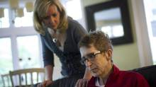 Cancer patient Darcy Doherty, along with his wife Rebecca Cumming, is photographed at his home in Toronto, Ont. on Wednesday, May 30/2012. (Kevin Van Paassen/The Globe and Mail)