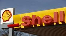 Shell's company logo is pictured at a gas station in Zurich in this file photo. (© Arnd Wiegmann / Reuters)