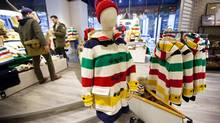 Hudson's Bay Co.'s flagship store in Toronto. (Tim Fraser For The Globe and Mail)