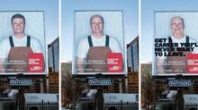 SAIT Polytechnic: Aging billboards