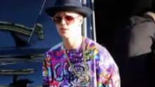 Justin Beiber (YouTube screen grab from Fashion Police segment)