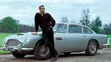 Sean Connery, as James Bond in 1964's Goldfinger, drove an Aston Martin. (Everett Collection)