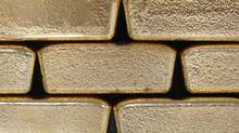 Gold bars. (LISI NIESNER/REUTERS)