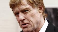 """Robert Redford arrives for the premiere of the film The Conspirato"""" at Ford's Theatre in Washington, April 10, 2011. (KEVIN LAMARQUE/KEVIN LAMARQUE/REUTERS)"""