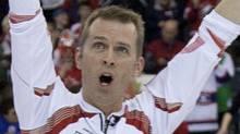 Winnipeg's Jeff Stoughton defeated Kevin Martin in BDO Canadian Open curling action on Saturday . THE CANADIAN PRESS/Jonathan Hayward (Jonathan Hayward/CP)