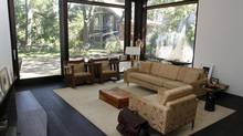 Purchased in 2005 in a sad state of disrepair, the High Park home of Ginger Sorbara has been thoroughly renovated. The 400-sq. ft. rear addition has a floor-to-ceiling glass wall. (Fernando Morales/The Globe and Mail)