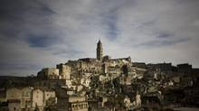 The town of Matera in Italy's Basilicata region. Energy companies are increasing looking to invest in the Basilicata area, which holds the bulk of Italy's 1.4-billion barrels of proven reserves. (NADIA SHIRA COHEN/NYT)