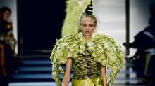A model walks in the Armani Prive show at Paris Couture 2012. (Gonzalo Fuentes / Reuters/Gonzalo Fuentes / Reuters)