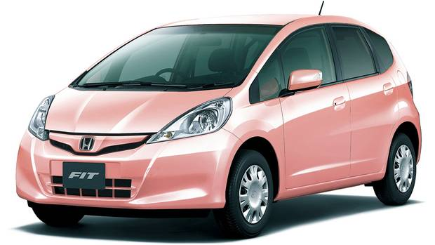 Honda Fit She's in Pink Gold Metallic II