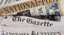 Postmedia Network Inc. publishes the National Post and several other big-city dailies in Canada. (Adrian Wyld/The Canadian Press/Adrian Wyld/The Canadian Press)