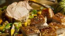 Chef Massimo Capra's Roasted Harvest Pork (Kevin Van Paassen)