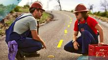 Prince Avalanche stars Paul Rudd and Emile Hirsch who take a break from city life and move to the country to take jobs repainting traffice lines down country highways.