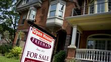 File photo of a house for sale in Toronto. (Sarah Dea/The Globe and Mail)