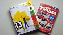 Yellow Pages and Auto Trader publications (Louie Palu/The Globe and Mail)