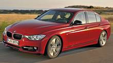 The new 2012 BMW 3 Series sedan. (BMW)