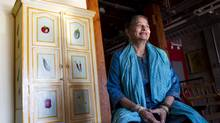 Nuzhath Leedham, Executive director of Toronto Riverdale Immigrant Women's Centre. (Peter Power/The Globe and Mail)