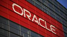 Oracle Corp., which came late to cloud computing, is trying to be a one-stop shop for operating systems, databases, computer programs and infrastructure over the Web. (Stephen Lam/Reuters)