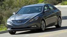 2011 Hyundai Sonata Credit: Hyundai