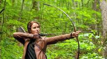 Jennifer Lawrence stars as Katniss Everdeen in The Hunger Games. (Murray Close)