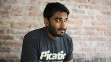 Jayesh Parmar, CEO of Picatic, a Vancouver-based crowd-funding platform, is photographed at his offices in Vancouver, British Columbia, Friday, October 4, 2013. Rafal Gerszak for The Globe and Mail  (Rafal Gerszak)