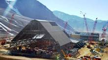 The fallout from the mining industry crisis did not spare Canada, where companies such as Barrick Gold, whose Pascua-Lama project is shown, had to react to cost pressures. (Barrick Gold)