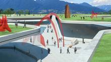 Renderings of the Blowdown Gallery (Stanley Park) (MICHAEL GREEN ARCHITECTURE)