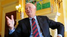 Governor General David Johnston takes part in an interview at Rideau Hall in Ottawa, on August 12, 2011. (Sean Kilpatrick/THE CANADIAN PRESS/Sean Kilpatrick/THE CANADIAN PRESS)