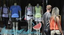 A Lululemon store on Queen St. West in Toronto. Lululemon said Monday it will take a 'significant' financial hit as a result of production problems and an expected shortage of its signature black 'luon' women's yoga pants. (Fred Lum/The Globe and Mail)