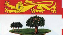 Detail from Prince Edward Island's provincial flag.